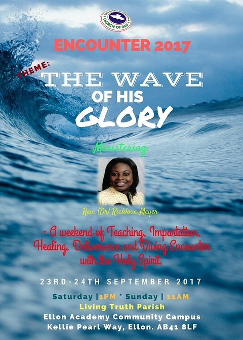 The Wave of His Glory